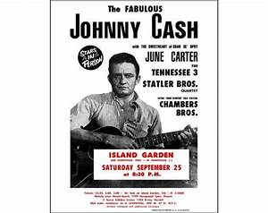 Johnny Cash Poster : johnny cash photo print poster johnny cash concert poster ~ Buech-reservation.com Haus und Dekorationen
