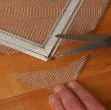 repair  replace window screens hometips