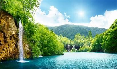 Waterfall Desktop Wallpapers Pixelstalk Nature