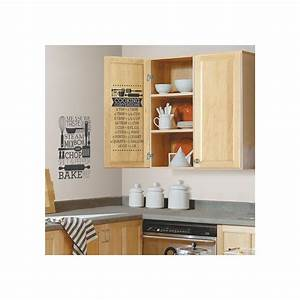 roommates 5 in x 115 in cooking conversions peel and With the best of home depot wall decals