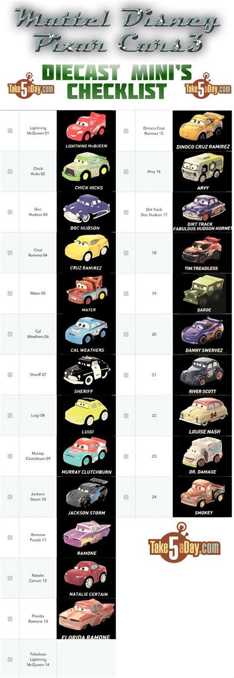 day blog archive mattel disney pixar cars