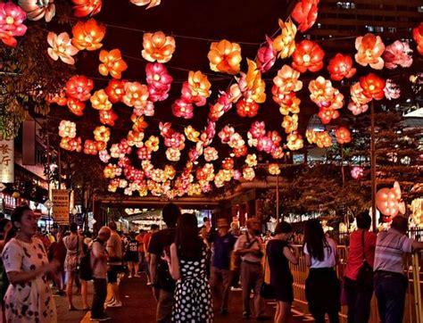 festivals  singapore lanterns mooncakes  cultural   mid autumn festival