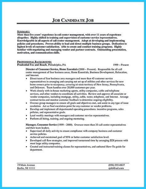 Data Center Resume Format by When Call Center Supervisor Resume You Should Fill Your Resume With The Personal