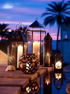 Lanterne Deco Interieur : 60 id es avec les bougies d coratives ~ Teatrodelosmanantiales.com Idées de Décoration