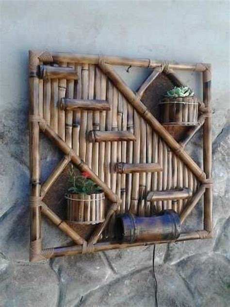 Using reed in any indoor or outdoor setting is a. 20+ Stunning DIY Bamboo Wall Art And Decor Ideas | Bamboo wall art, Bamboo decor, Bamboo diy