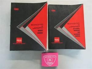 1993 Gmc Jimmy Sonoma Service Shop Repair Manual