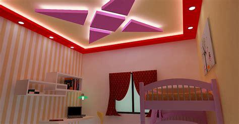 False Ceiling Designs For Kids Room-home Combo