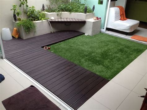 another ideas for outdoor garden with acesturf artificial