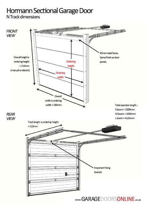 steel garage door thickness hormann lpu42 m ribbed decograin standard metric sizes hormann steel sectional door sectional
