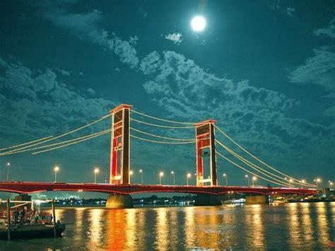 jembatan ampera palembang ulasan tentang jembatan