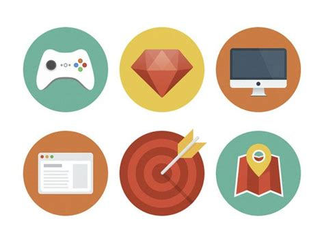 17 Best Ideas About Flat Icons On Pinterest