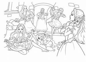 Barbie And The Three Musketeer Free Coloring Pages