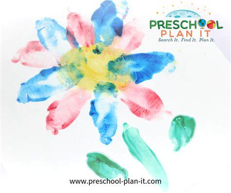 growing flowers preschool theme 777 | growing flowers fingerpaintflowers