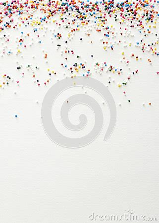 sprinkles background stock photo image