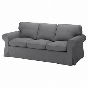 Ektorp Sofa Ikea : ektorp three seat sofa nordvalla dark grey ikea ~ Watch28wear.com Haus und Dekorationen