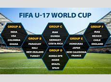 FIFA U17 World Cup Teams 2017 Sporteology Sporteology