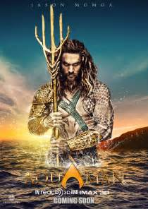 Jason Momoa Aquaman Movie Poster