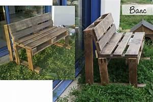 Banc En Bois Ikea : banc palette bois id e inspirante pour la ~ Premium-room.com Idées de Décoration