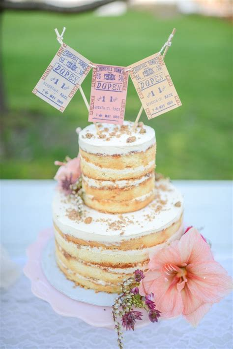 78 Best images about Naked Cakes on Pinterest Wedding