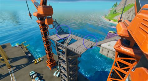 fortnite dockyard deal challenges cheat sheet loading