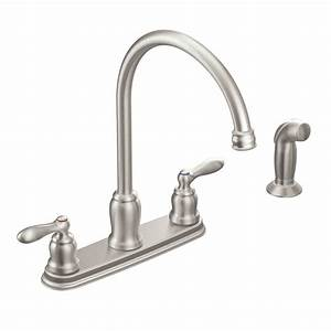 Moen Kitchen Faucet Handle Installation