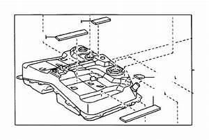 Toyota Rav4 Fuel Tank  Interior  Body  Tube