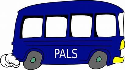 Bus Kartun Mobil Pals Gambar Cartoon Clip