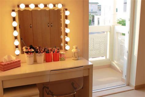 dressing table light ideas makeup dressing table mirror lights makeup vidalondon