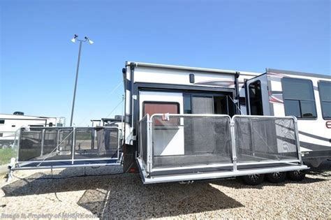 2016 heartland rv rv edge 397ed hauler 2 baths side