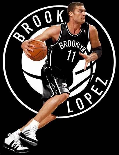 Nets Brooklyn Jersey Brook Lopez Nba Basketball