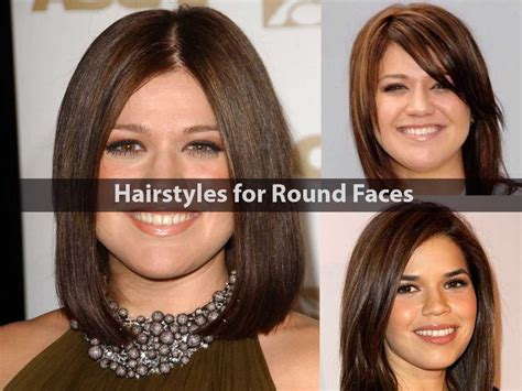 Adorable Hairstyles For Round Faces
