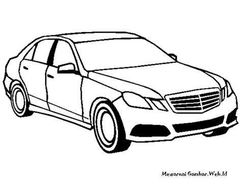Gambar Mobil Mercedes E Class by Mewarnai Gambar Mobil Mercedes Mewarnai Gambar