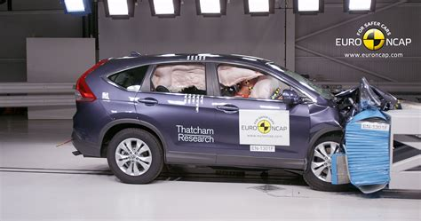 Crash Test by 2013 Honda Cr V 5 In Ncap Crash Test