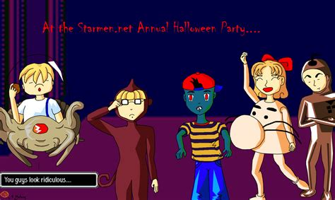 Earthbound Halloween Hack Megalovania by Starmen Net Earthbound Mother 3 Goodness