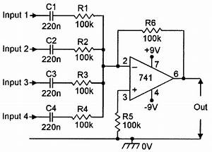 op amp cookbook part 2 nuts volts magazine With basic audio mixer using op amp