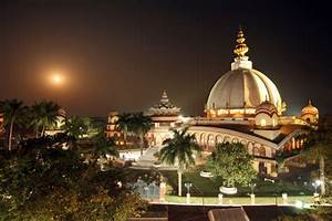 Mayapur, India- my skyline at night! Home for 10 years ...