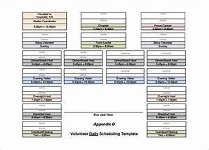 volunteer schedule templates 11 free word excel pdf With volunteer schedule template excel