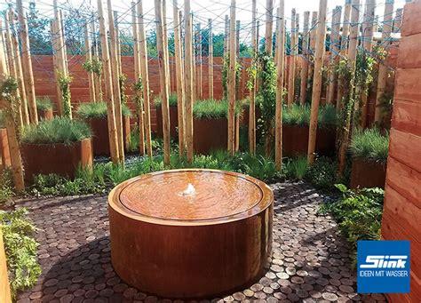 Gartenbrunnen Cortenrundtisch 150 Online Kaufen