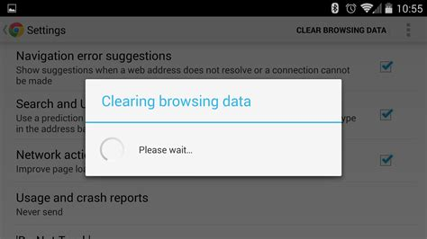 clear browser history android how to delete browser history on android