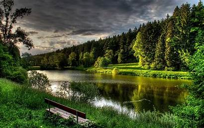 Lake Nature Backgrounds Forest Natural Landscape Wallpapers