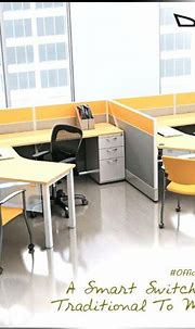 Get plenty of #legspace and clean #office aisles with this ...