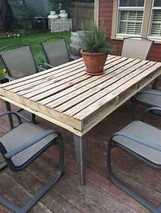 Table En Palette : salon de jardin palette bois fabrication avantages ~ Melissatoandfro.com Idées de Décoration