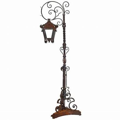 Lantern Stand Tall Iron Floor Lamps Weathered