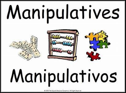 Center Manipulatives Classroom Printable Preschool Signs Labels