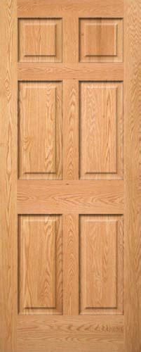 6 Panel Wood Interior Doors by Oak 6 Panel Wood Interior Doors Homestead Doors