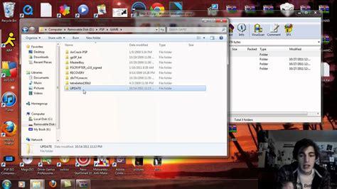 Install Custom Firmware 660 Pro B10 Psp 1000, 2000 Youtube