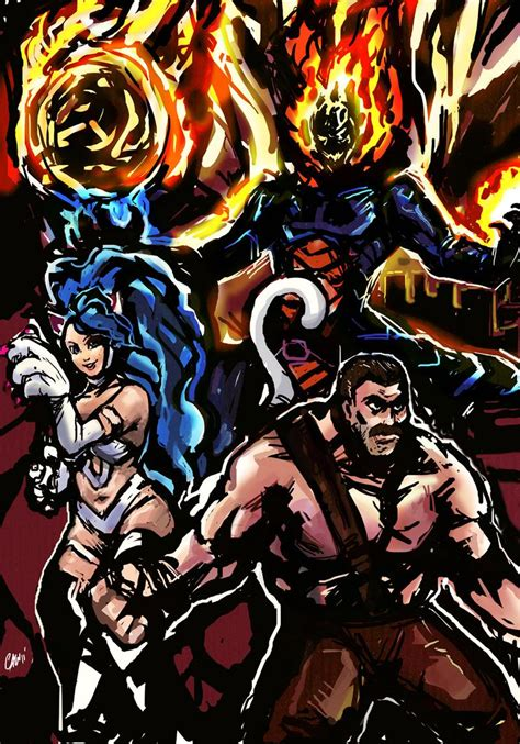 Marvelvscapcom3 The Dream Team By Theamericandream On