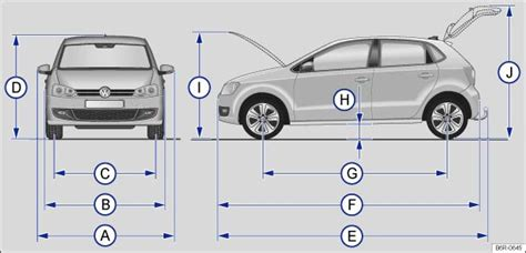 volkswagen polo owners manual dimensions technical data