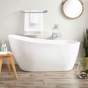 Sheba Acrylic Slipper Tub Freestanding Tubs Bathtubs