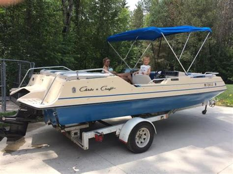 1985 Chris Craft Deck Boat by Used Boats Sell Boats Buy Boats Boats Watercraft Used